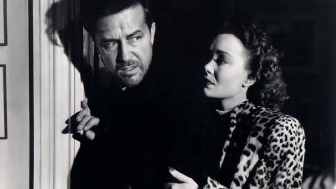 Ray Milland (Don Birnam) en Jane Wyman (Helen St. James)