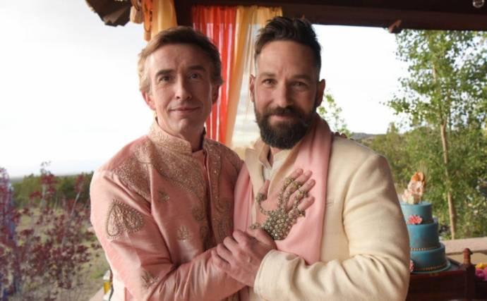 Steve Coogan (Erasmus) en Paul Rudd (Paul)