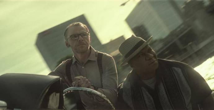 Simon Pegg (Benji Dunn) en Ving Rhames (Luther Stickell)