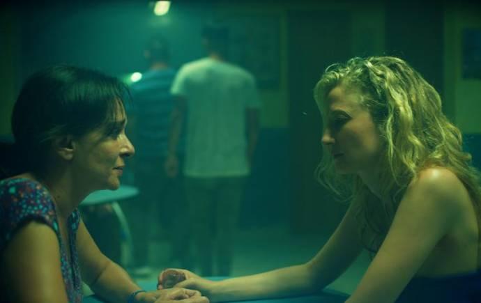 Valeria Golino (Tina) en Alba Rohrwacher (Angelica)