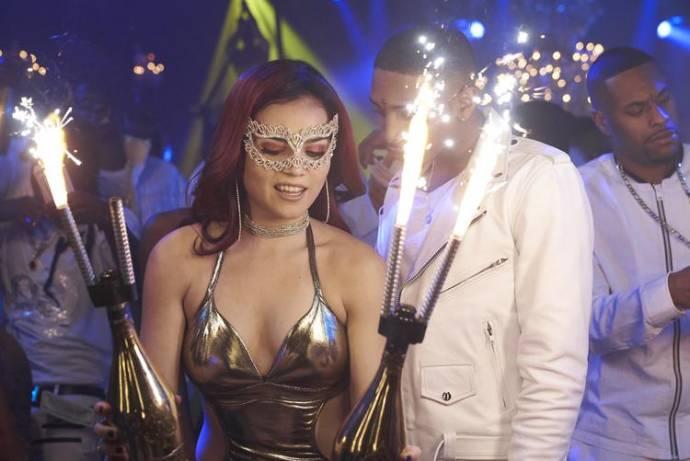 Andrea Londo (Cynthia) en Kaalan Rashad Walker (Juju (as Kaalan Rashad Walker))