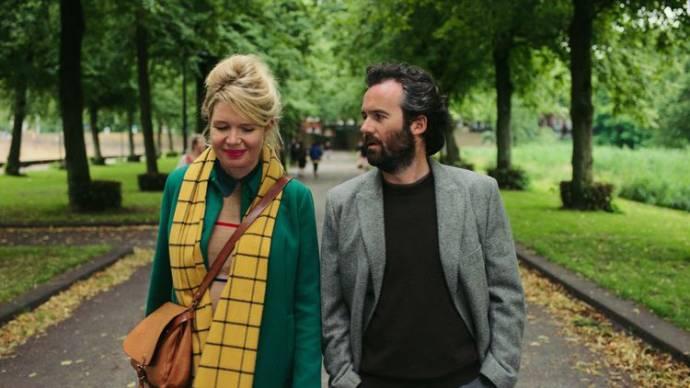 Tjitske Reidinga (Doris) en Guy Clemens (Tim)