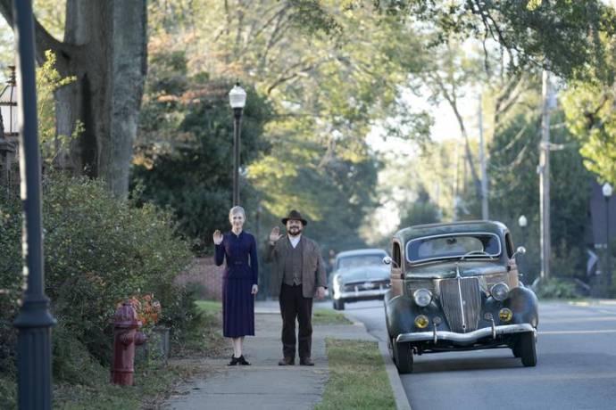 Cate Blanchett (Florence Zimmerman) en Jack Black (Jonathan Barnavelt)