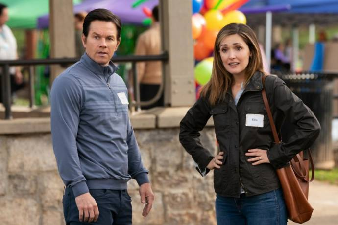 Mark Wahlberg (Pete) en Rose Byrne (Ellie)