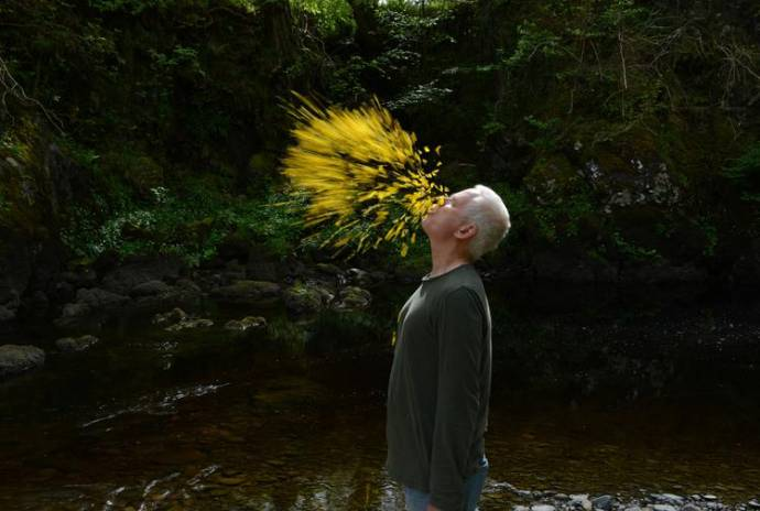Leaning Into the Wind: Andy Goldsworthy filmstill