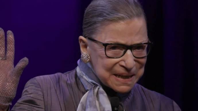 Ruth Bader Ginsburg (Zichzelf)