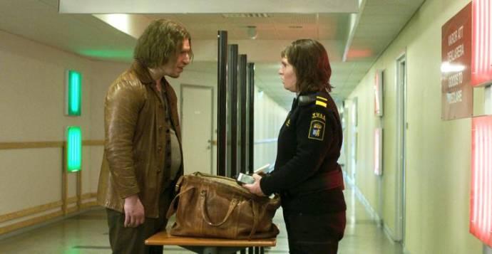 Eero Milonoff (Vore) en Eva Melander (Tina)