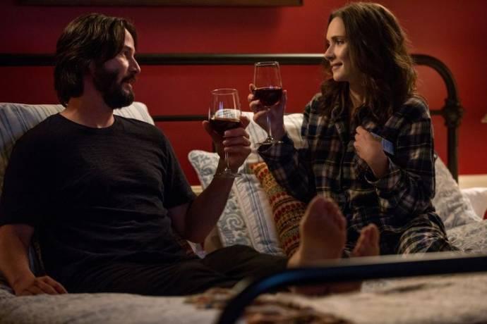 Keanu Reeves (Frank) en Winona Ryder (Lindsay)