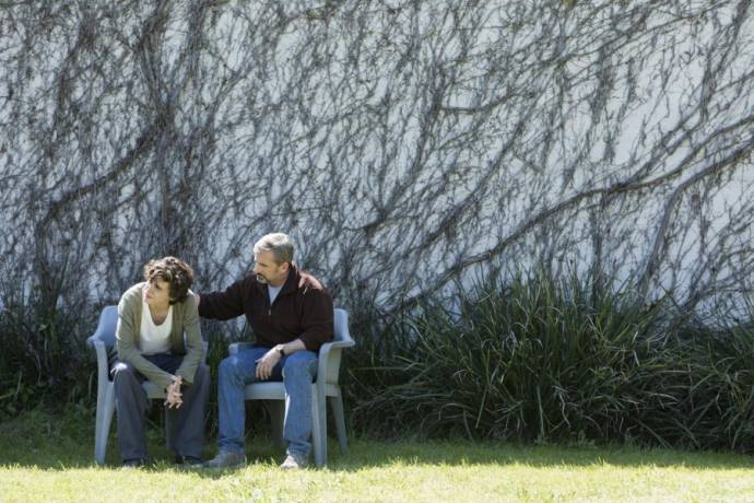 Timothée Chalamet (Nic Sheff) en Steve Carell (David Sheff)