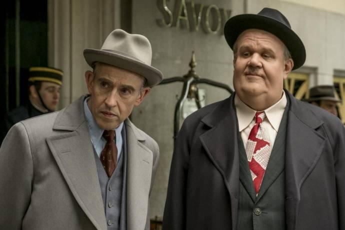 Steve Coogan (Stan Laurel) en John C. Reilly (Oliver Hardy)