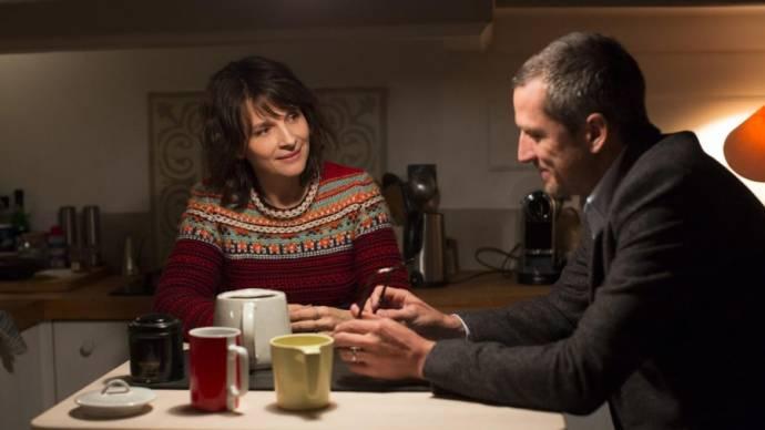 Juliette Binoche (Selena) en Guillaume Canet (Alain)