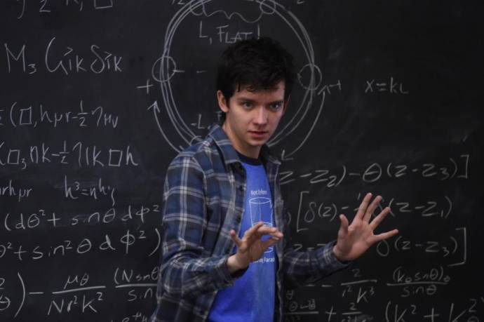 Asa Butterfield (Stillman) in Time Freak