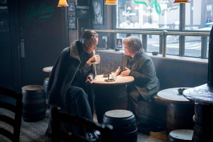 Richard E. Grant (Jack Hock) en Melissa McCarthy (Lee Israel)