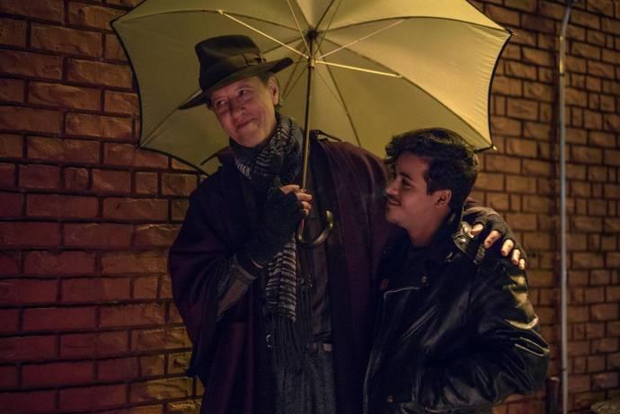 Richard E. Grant (Jack Hock) en Christian Navarro (Kurt)