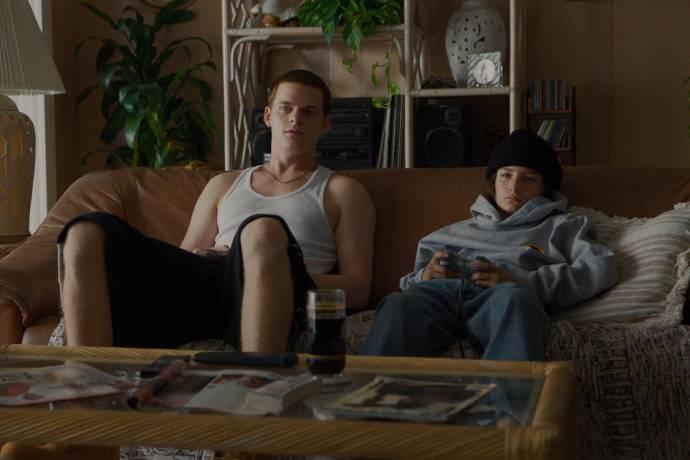 Lucas Hedges (Ian) en Sunny Suljic (Stevie)