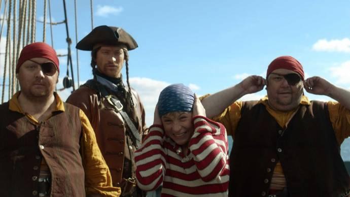 Kapitein Sabeltand en de schat van Lama Rama filmstill