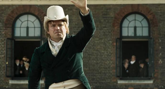 Rory Kinnear (Henry Hunt) in Peterloo
