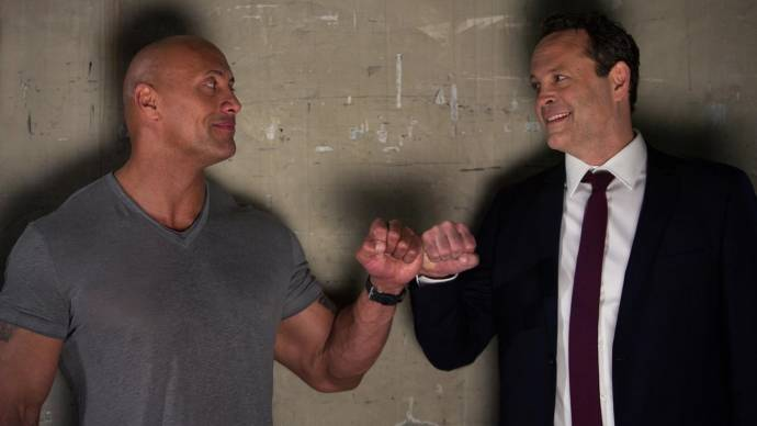 Dwayne Johnson (Dwayne 'The Rock' Johnson) en Vince Vaughn (Hutch)