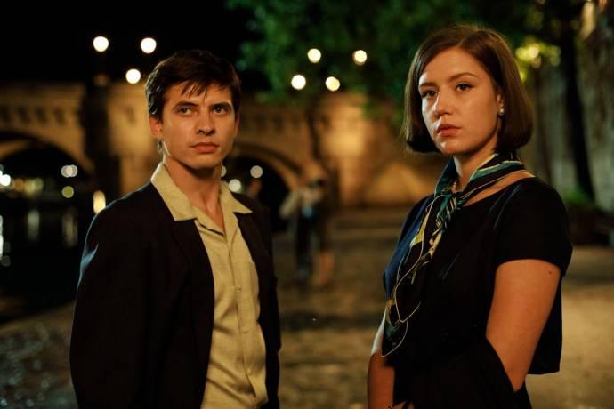 Oleg Ivenko (Rudolf Nureyev) en Adèle Exarchopoulos (Clara Saint)