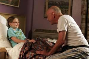 Alan Arkin (Grandpa) en Abigail Breslin (Olive)
