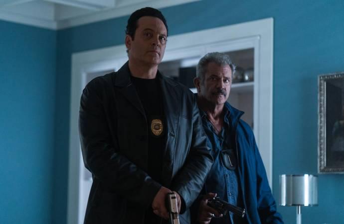 Vince Vaughn (Anthony Lurasetti) en Mel Gibson (Brett Ridgeman)