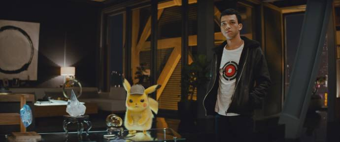 Justice Smith (Tim Goodman) in Pokemon: Detective Pikachu 3D