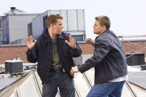 Matt Damon (Colin Sullivan) en Leonardo DiCaprio (Billy Costigan)
