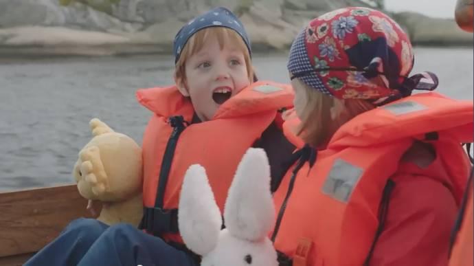 Casper en Emma op jacht naar de schat filmstill
