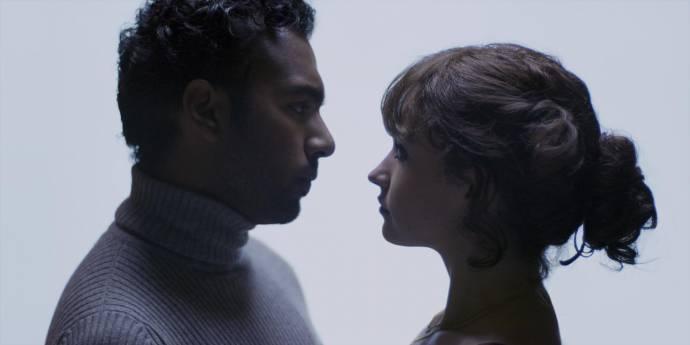 Himesh Patel (Jack Malik) en Lily James (Ellie Appleton)