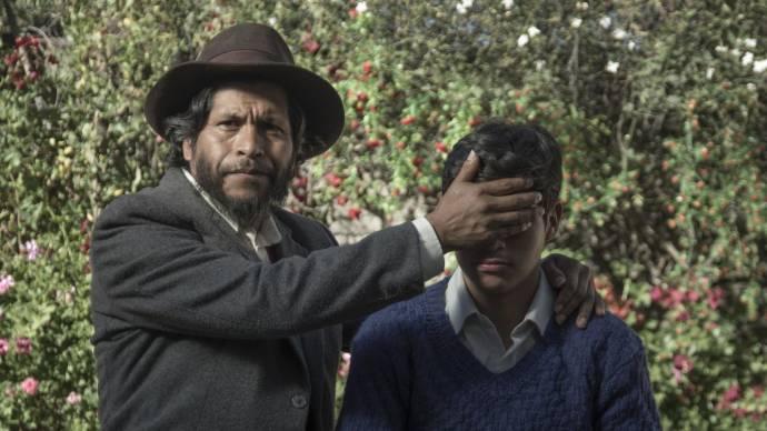 Amiel Cayo (Noé) en Junior Bejar (Segundo)