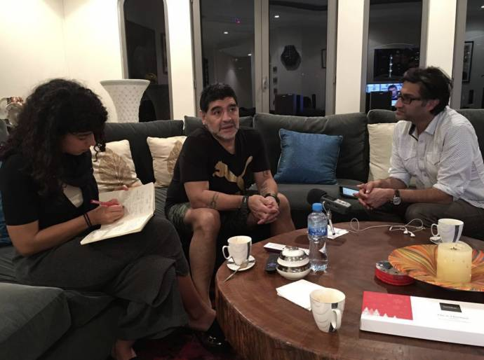 Diego Maradona filmstill