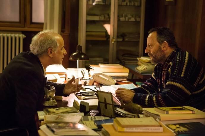Toni Servillo (Agente Vogel) en Jean Reno (Augusto Flores)
