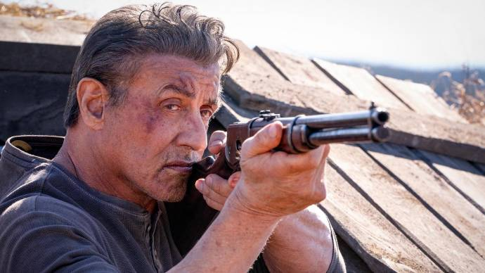 Sylvester Stallone (Rambo)