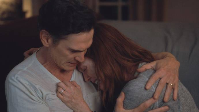Billy Crudup (Oscar) en Julianne Moore (Theresa)