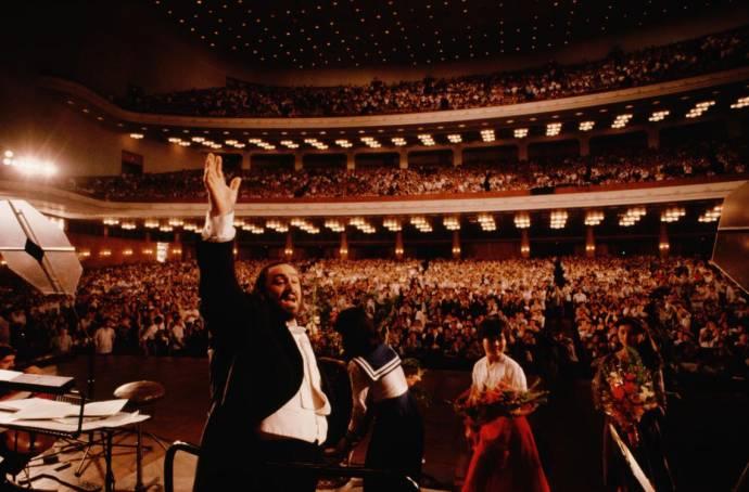 Pavarotti filmstill