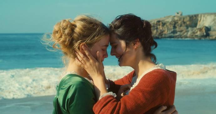Adele Haenel (Héloïse) en Noémie Merlant (Marianne)