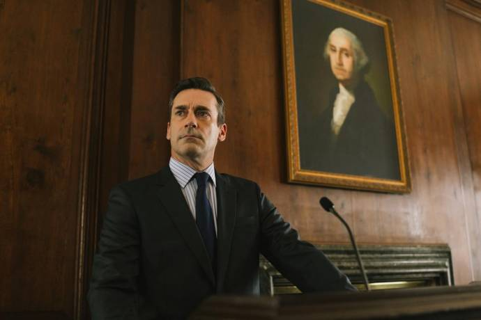 Jon Hamm (Denis McDonough) in The Report