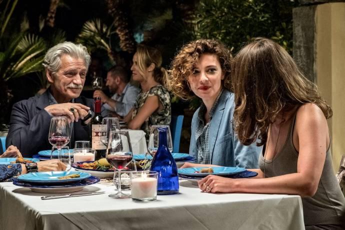 Fabrizio Bentivoglio (Tony) en Jasmine Trinca (Penelope)