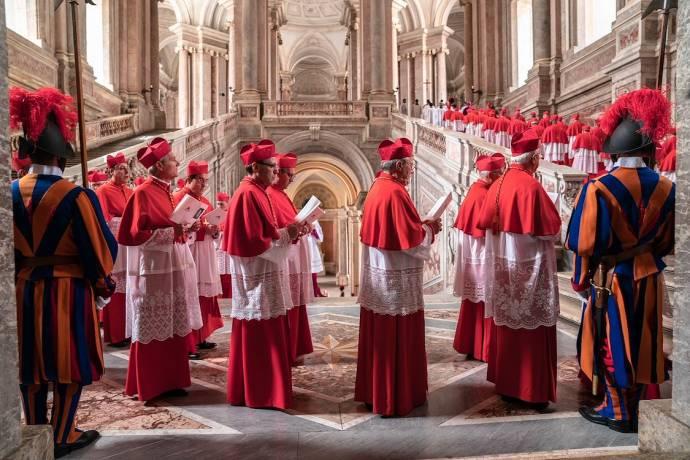 The Two Popes filmstill