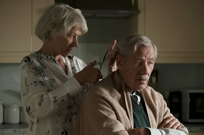 Helen Mirren (Betty McLeish) en Ian McKellen (Roy Courtnay)