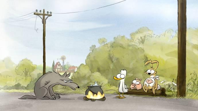 De grote boze vos & andere verhalen (NL) filmstill