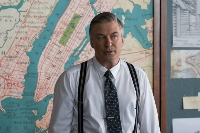 Alec Baldwin (Moses Randolph) in Motherless Brooklyn