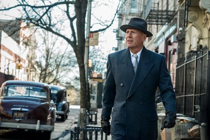 Bruce Willis (Frank Minna) in Motherless Brooklyn