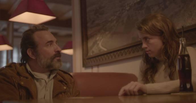 Jean Dujardin (Georges) en Adele Haenel (Denise)