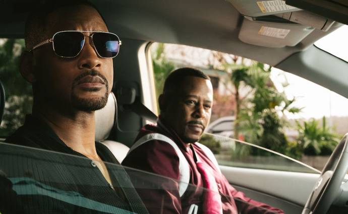 Will Smith (Detective Mike Lowrey) en Martin Lawrence (Detective Marcus Burnett)