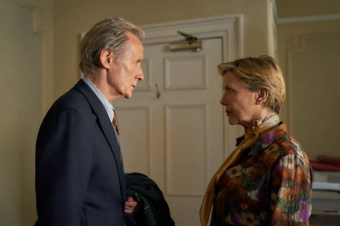 Bill Nighy (Edward) en Annette Bening (Grace)