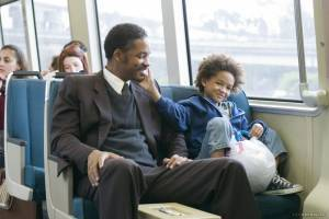 Will Smith (Chris Gardner) en Jaden Smith (Christopher (as Jaden Christopher Syre Smith))
