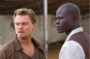 Leonardo DiCaprio (Danny Archer) en Djimon Hounsou (Solomon Bo)