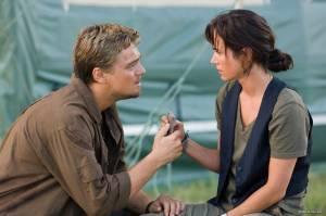 Jennifer Connelly (Maddy) en Leonardo DiCaprio (Danny Archer)