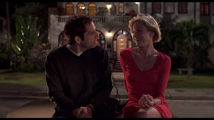Ben Stiller (Ted Stroehmann) en Cameron Diaz (Mary Jensen)